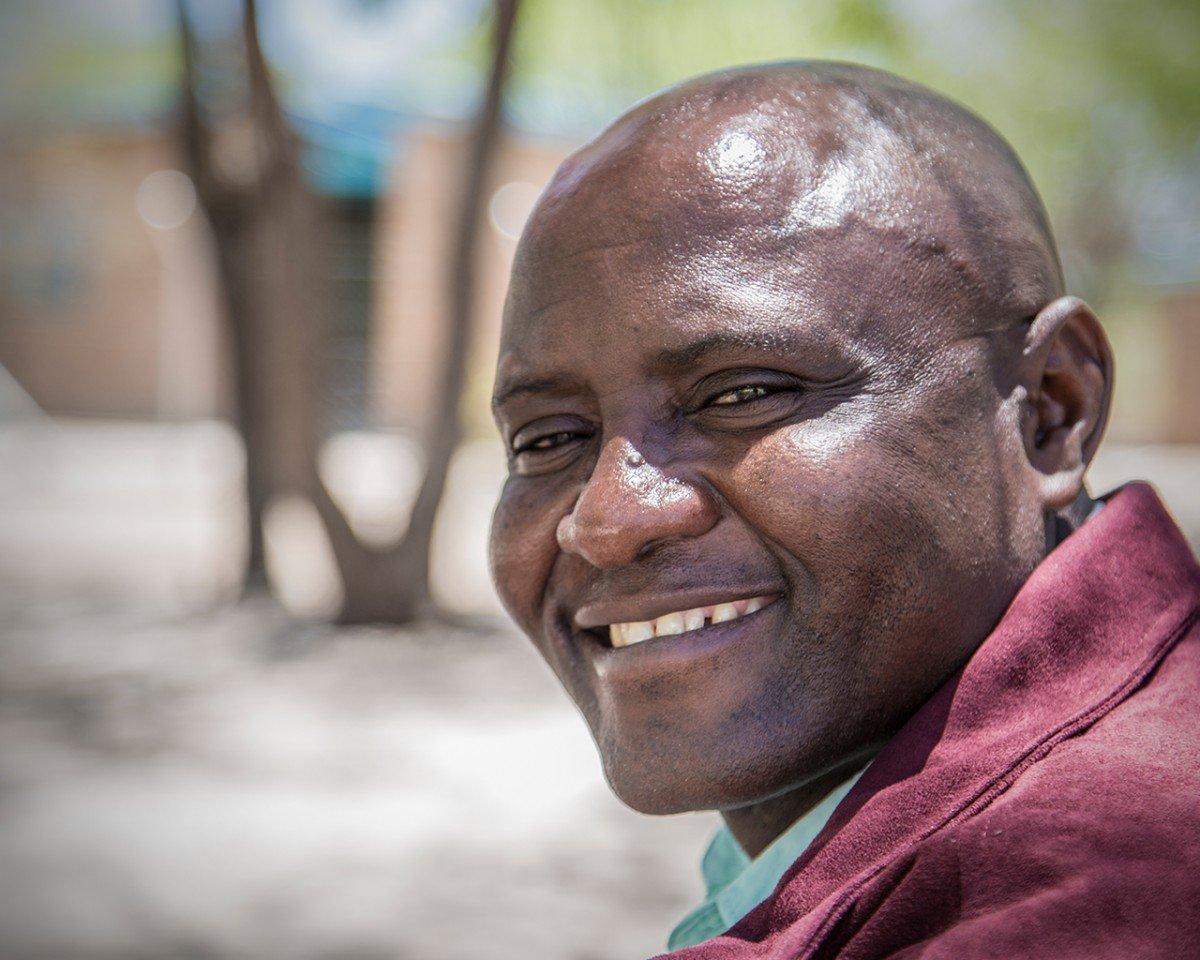 Chief Malousi of Sankuyo Village