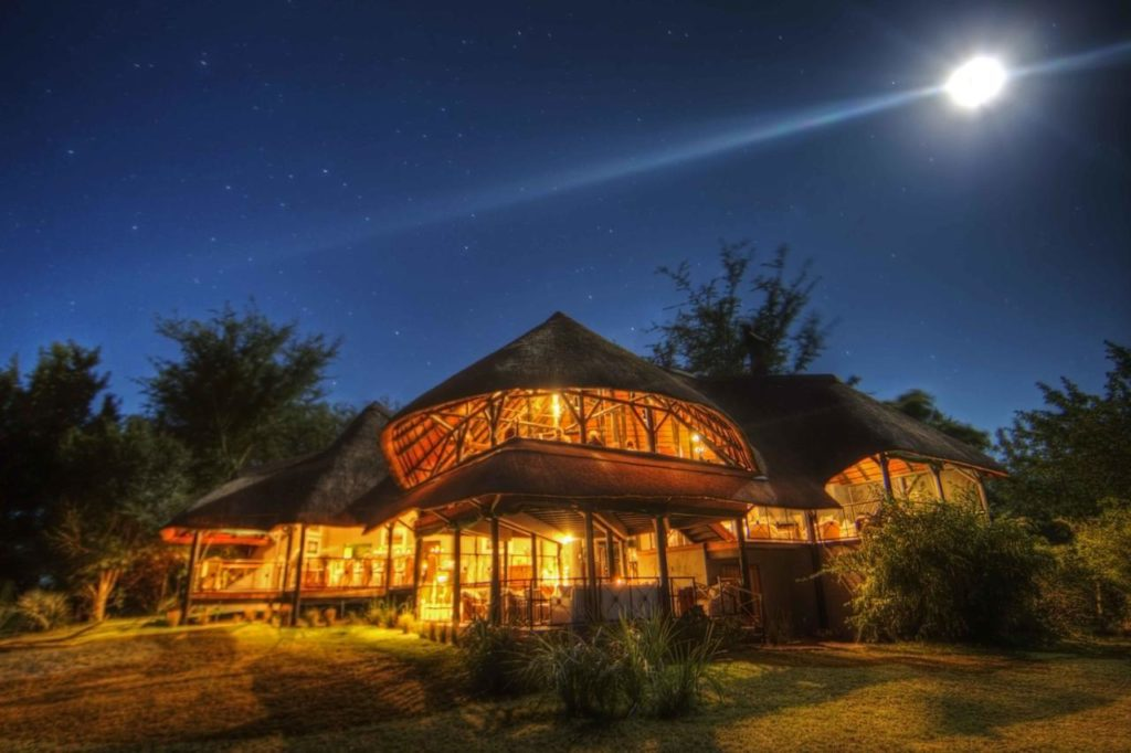 Exterior of Chobe Savanna Lodge