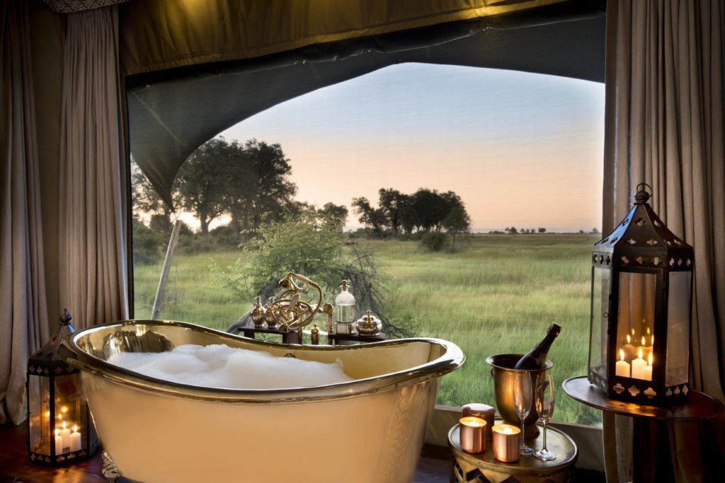 Bathroom at Duba Plains