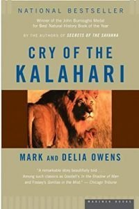 Cry of the Kalahari cover