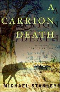 Detective Kubu book series cover