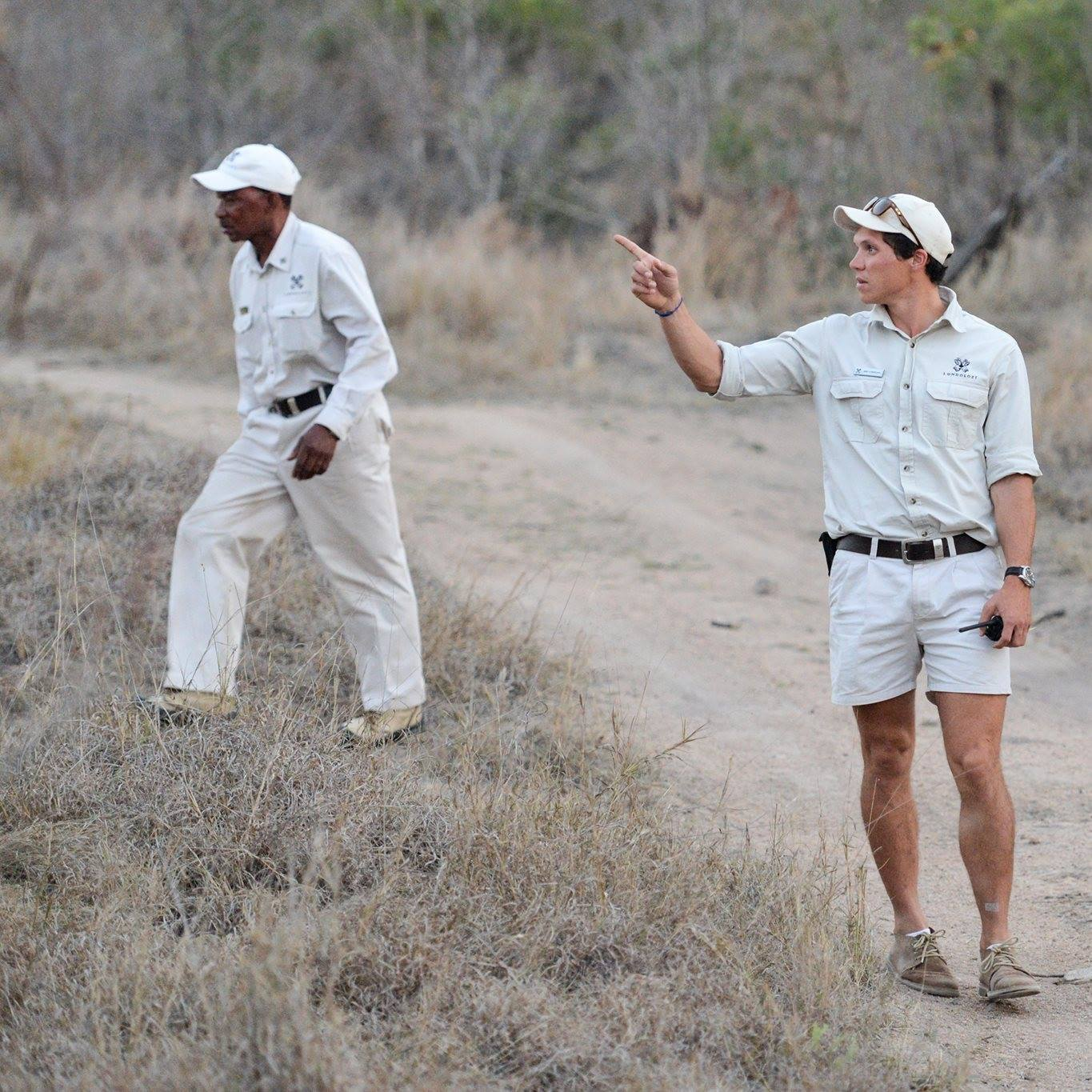Mike Sutherland photo in the bush