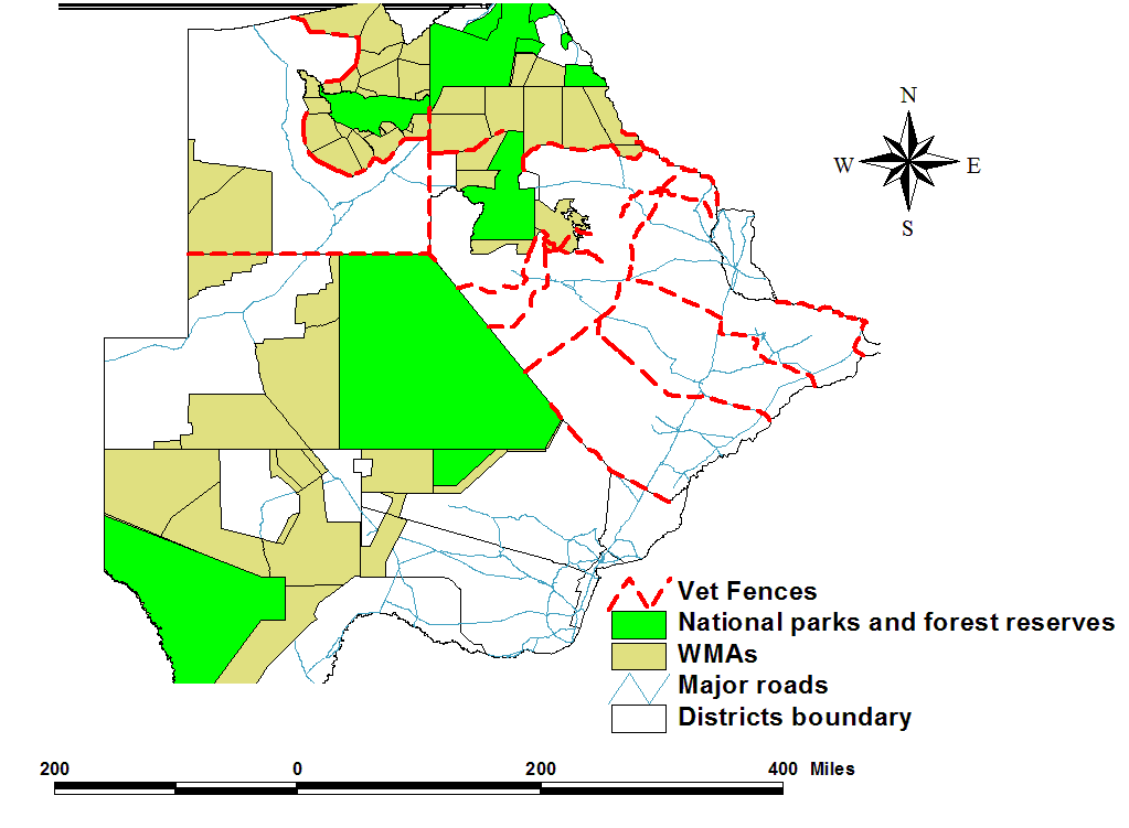 WMAs in Botswana