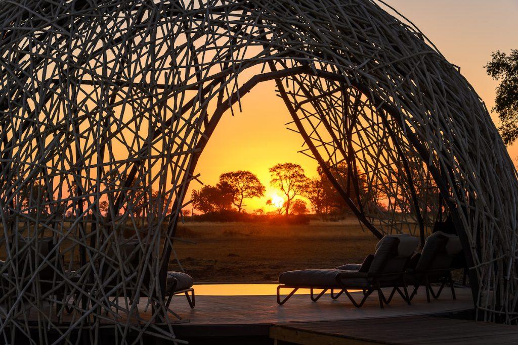 Okavango lodge Beavers Nest Jao Camp